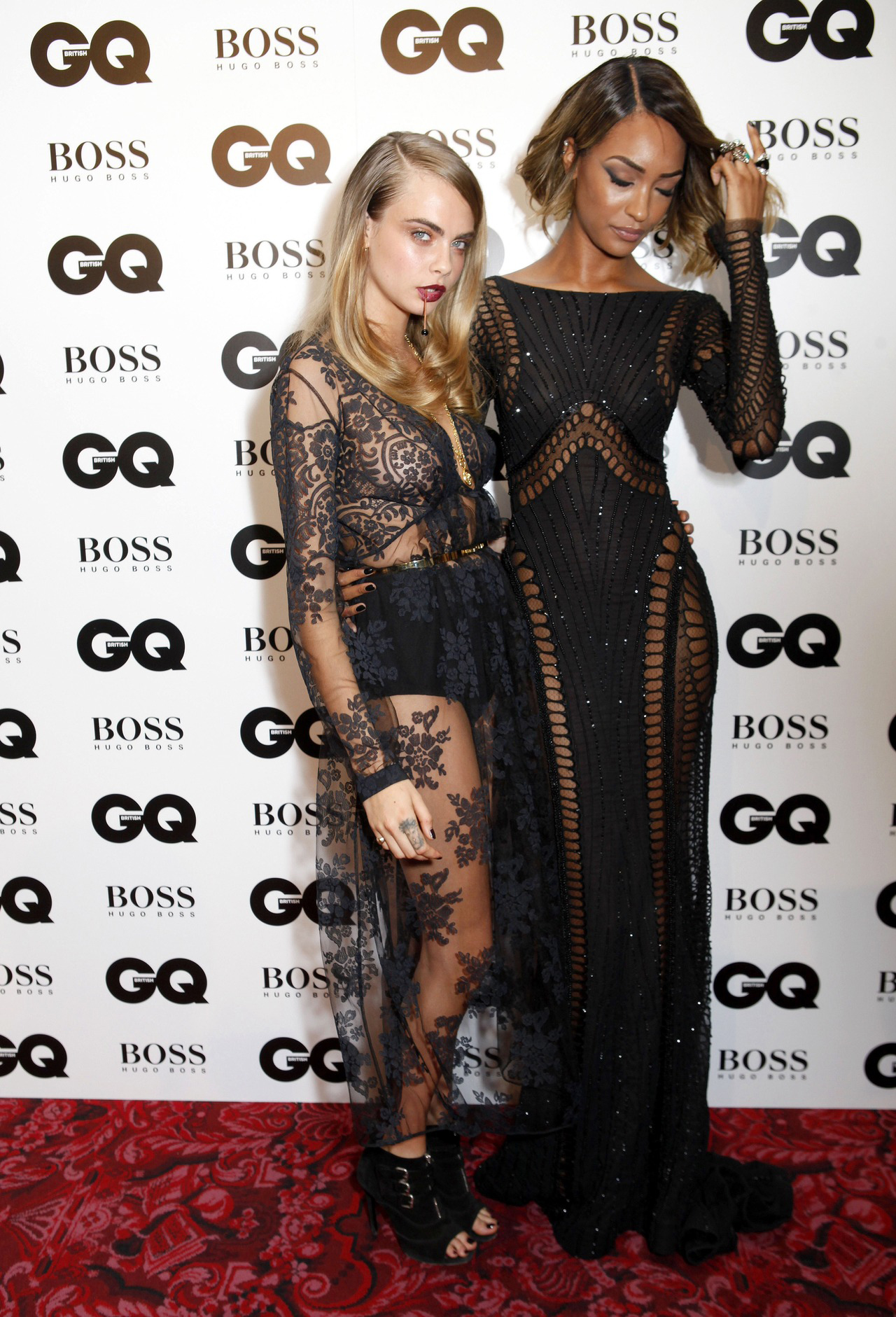 cara delevingne jourdan dunn steal style