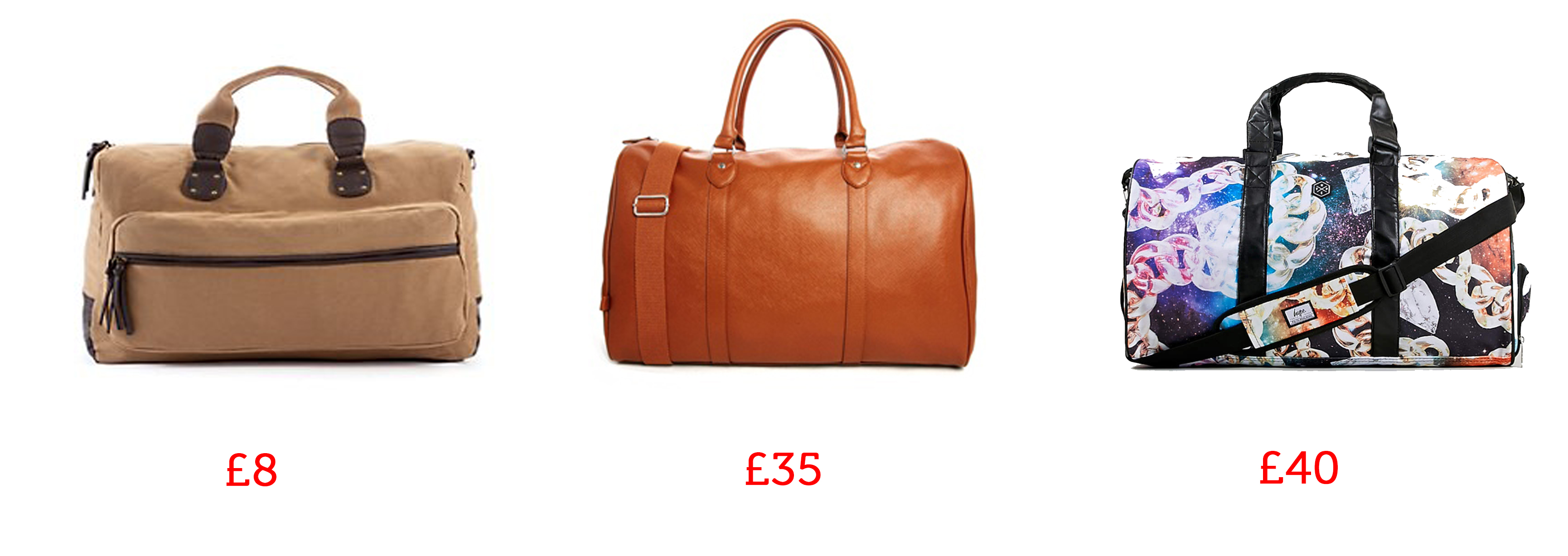 holdalls man bag asos new look topman
