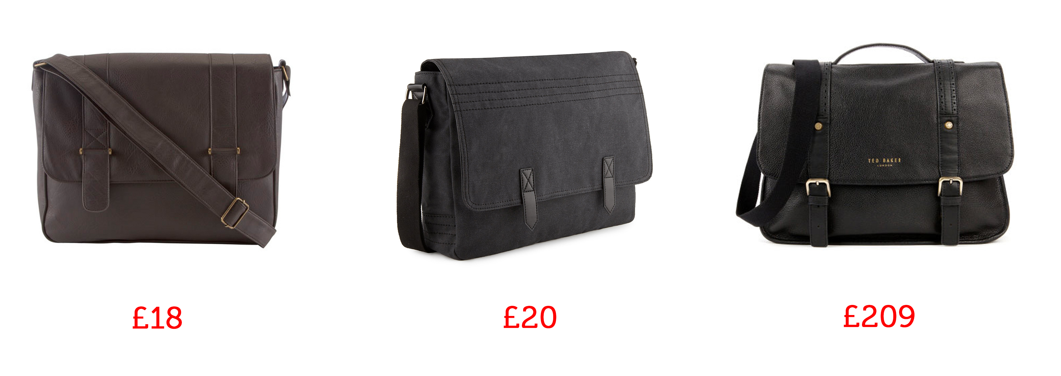 man bag messenger bags ted baker marks and spencers tesco