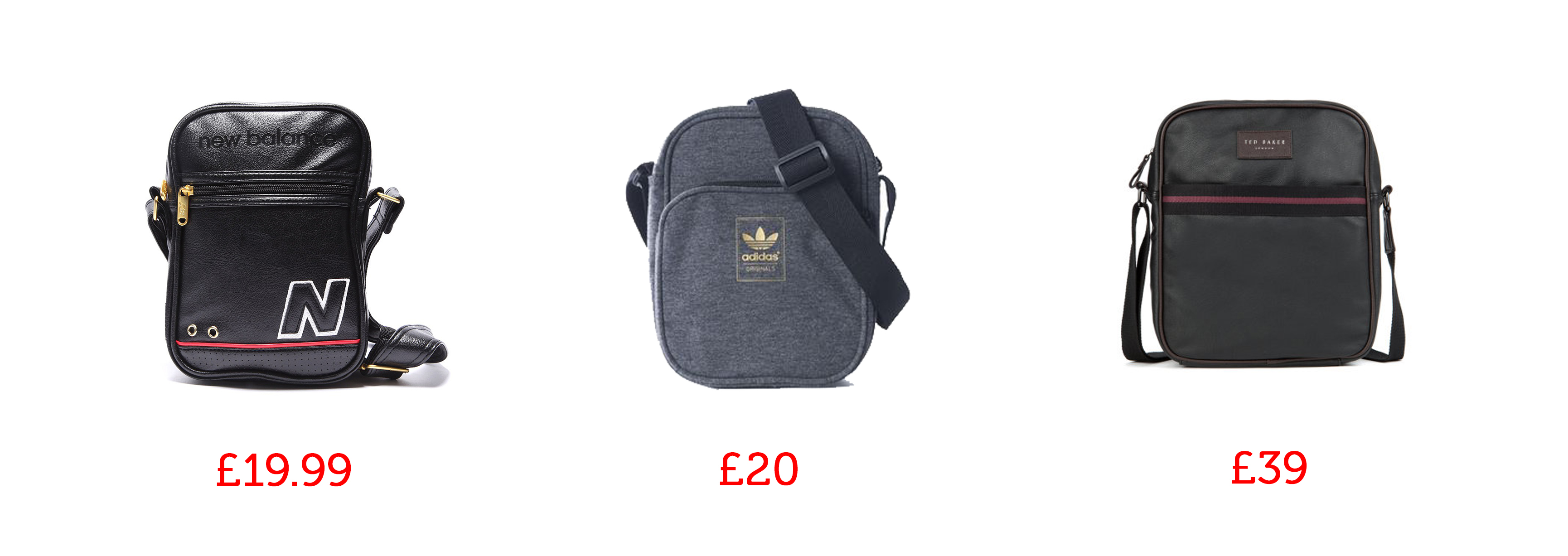 minibags man bag adidas footasylum ted baker