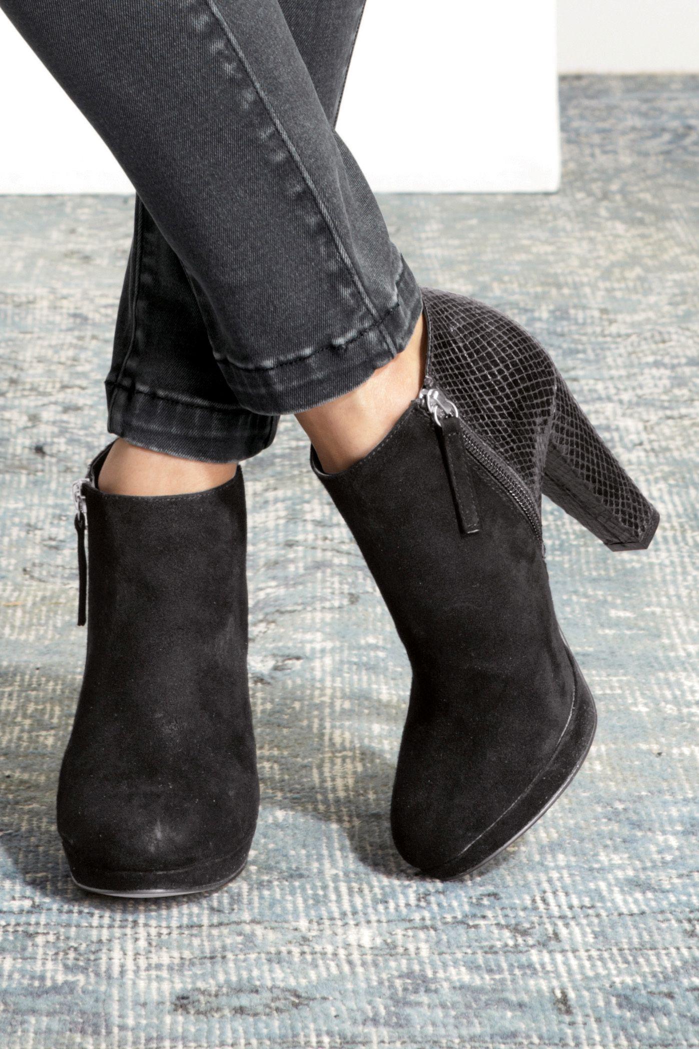next heeled boots