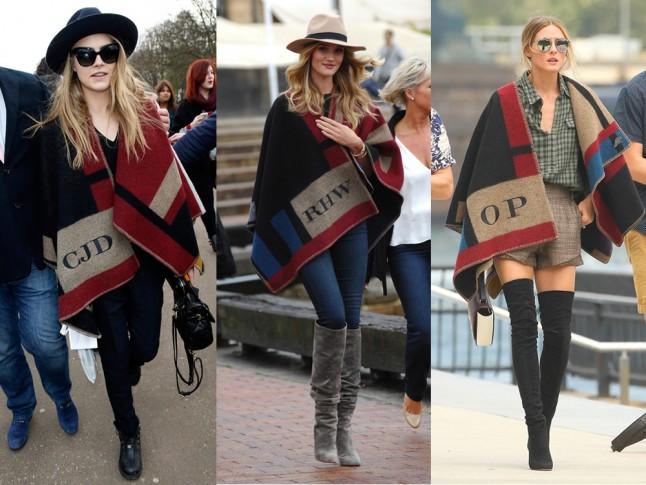 blanket cape trend