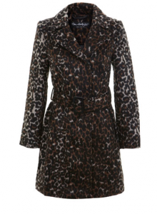 Leopard print coat - winter coat sales - lovesales