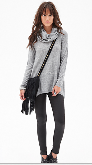 Cowl neck jumper - Forever 21