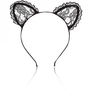 Lace Cat Ears - Halloween Accessories - Love Sales