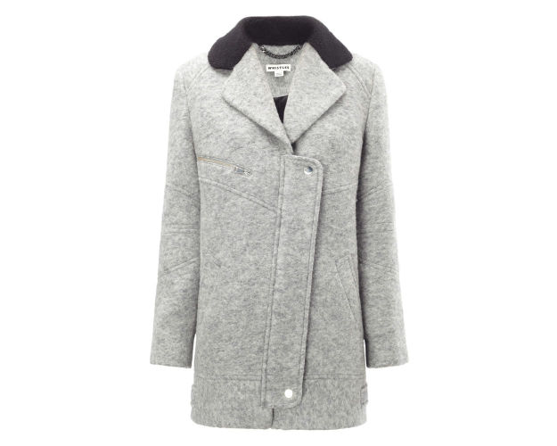 grey coat - womens coat sales - winter coat - lovesales