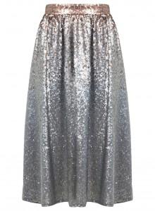 sequin midi skirt, glitter skirt, sequin skirt, glitter trend, lovesales