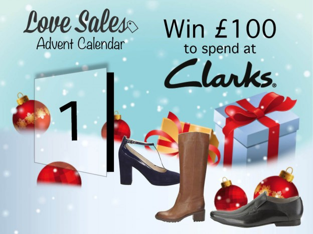 Advent Giveaway, lovesales competition, clarks sale, black friday sale, cyber monday, cyber monday sales, clarks shoes, christmas competition