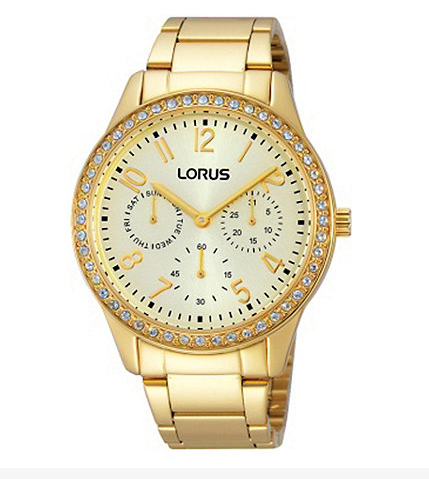 ladies lorus watch, gold lorus watch, ladies watch sale, lorus watch sale, gold ladies lorus watch, lovesales, ladies gold watch