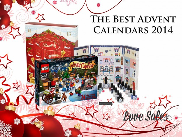 best advent calendars, best advent calendars 2014, advent calendars, alternative advent calendars, lovesales, black friday sales