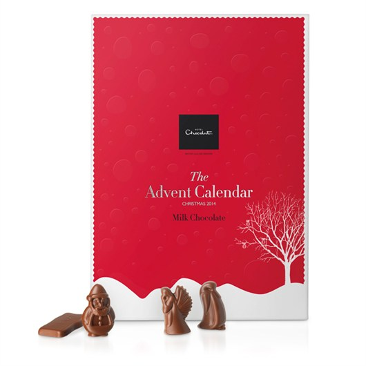 lovesales, hotel chocolat advent calendar, chocolate advent calendar, luxury advent calendar