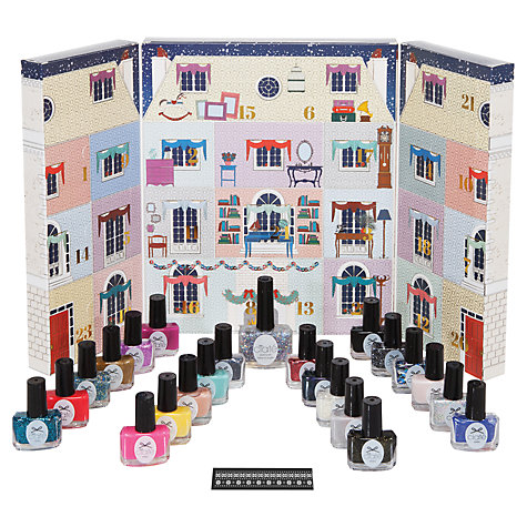 nail varnish advent calendar, beauty advent calendar, advent calendar, alternative advent calendar, advent calendar for women, lovesales