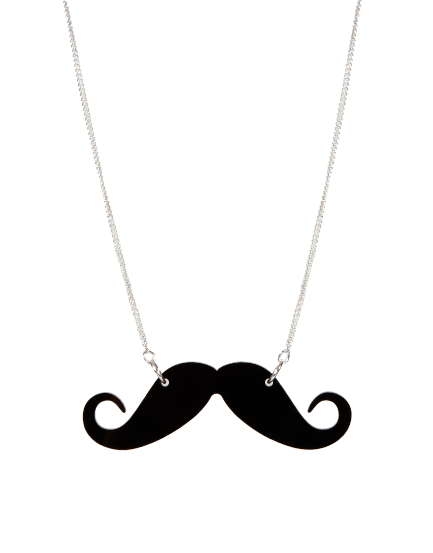 Movember, moustache necklace, asos sale, movember