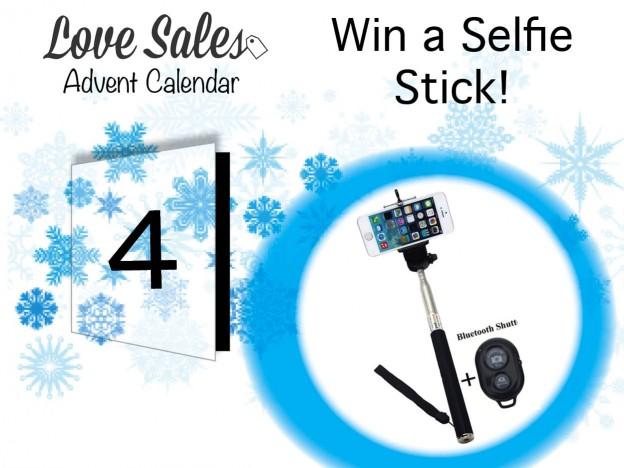 selfie stick, adventgiveaway, lovesales