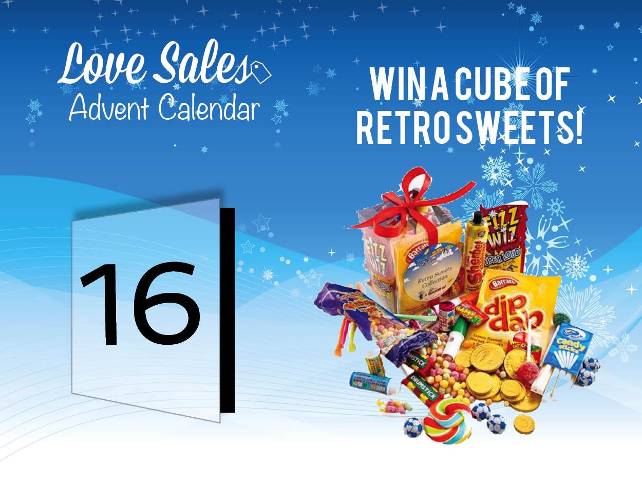 retro sweets cube, lovesales