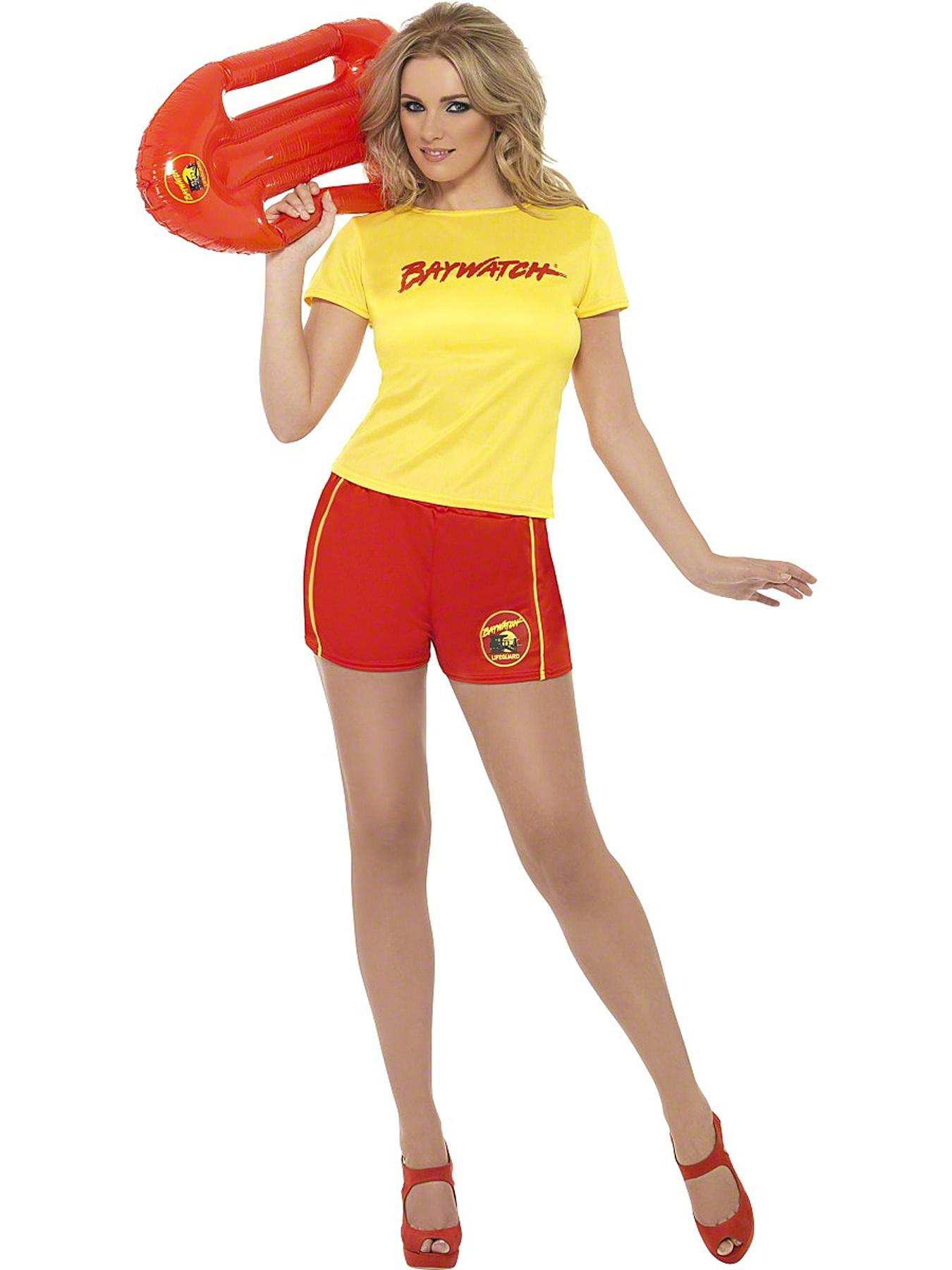 Womens Life Guard Fancy Dress