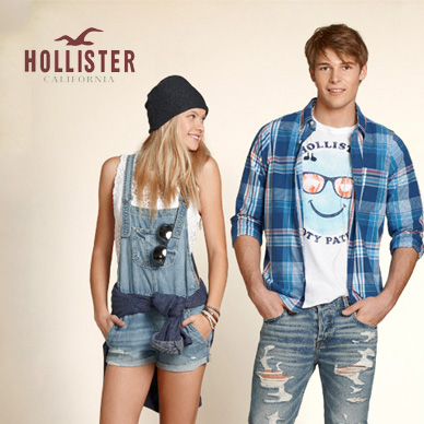 hollister-co Clothing Brands for Teenagers-Top 10 Teens Fashion Brands