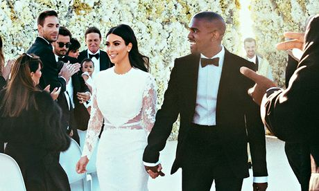 Kim and Kanye wedding
