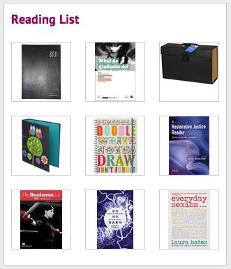 Freshers Week 2014 Reading List