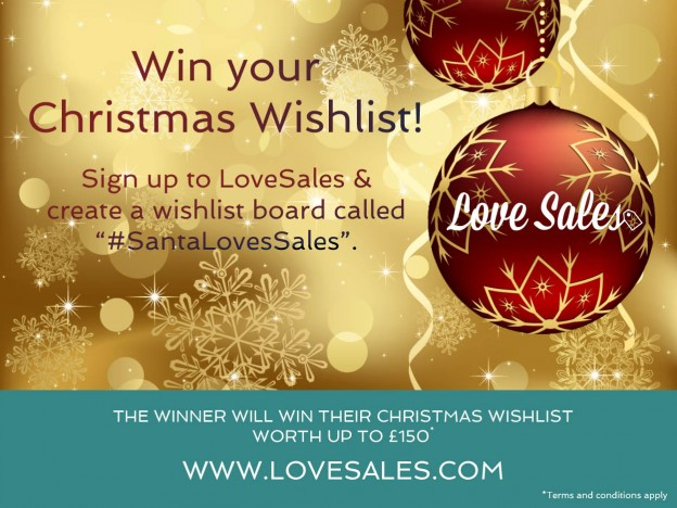 christmas wish list, christmas competition, win christmas gifts, love sales. lovesales competition