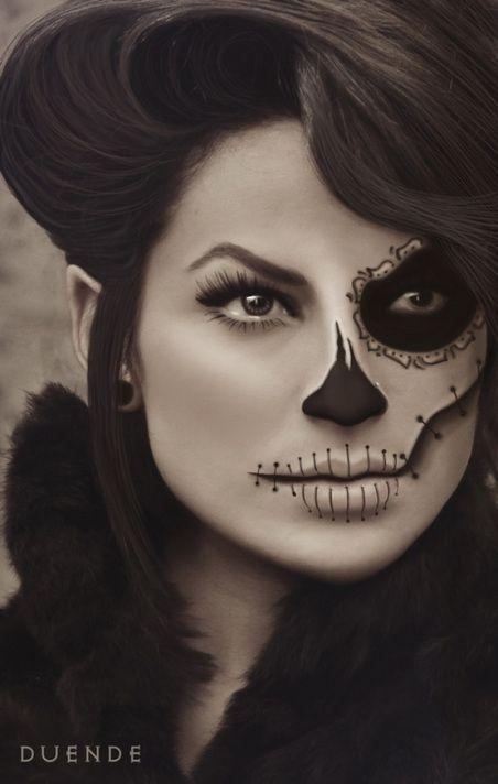 Day of the dead makeup, halloween makeup, love sales
