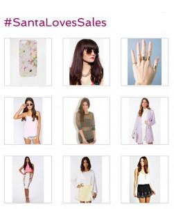 #santalovessales, love sales, lovesales, christmas competition, christmas wishlist