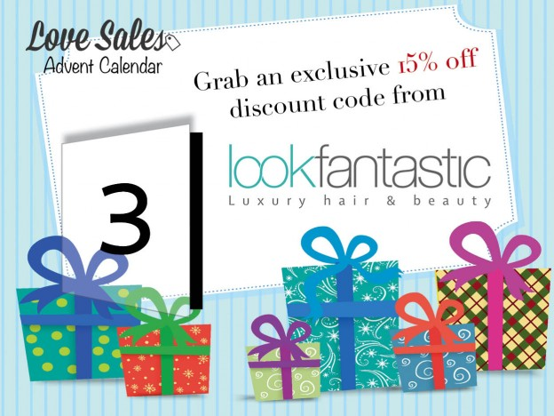 advent giveaway, #AdventGIveaway, lovesales, lookfantastic, beauty sale, ghd sale, cheap ghds, christmas competition