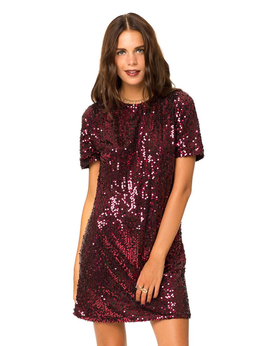 lovesales, sequin dress, motel rocks dress