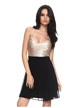 glitter outfit, sequin dress, glitter trend, lovesales