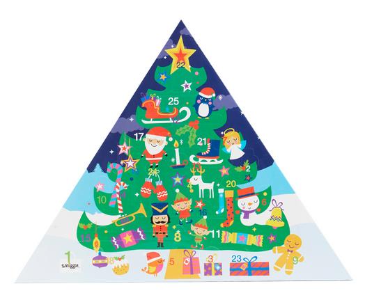 smiggle advent calendar, stationary advent calendar, novelty advent calendar, lovesales, alternative advent calendar, kids advent calendar