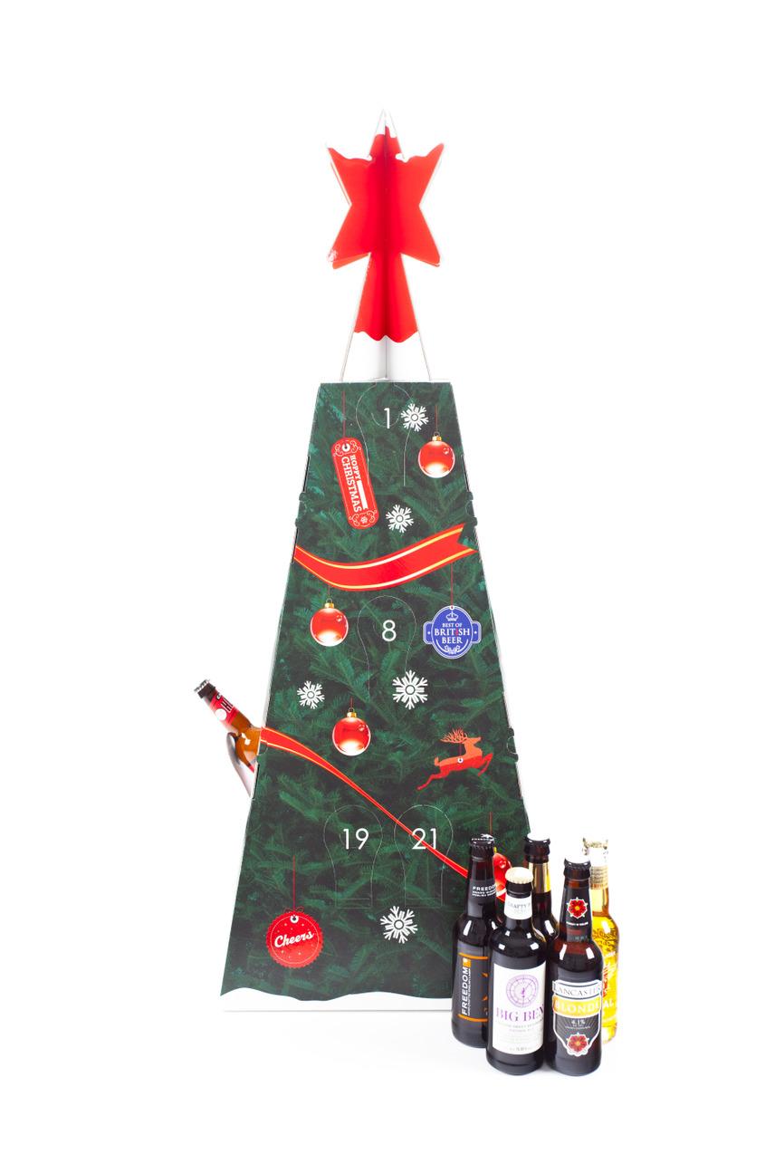 beer advent calendar, ale advent calendar, alcoholic advent calendar, lovesales, alternative advent calendar, mens advent calendar