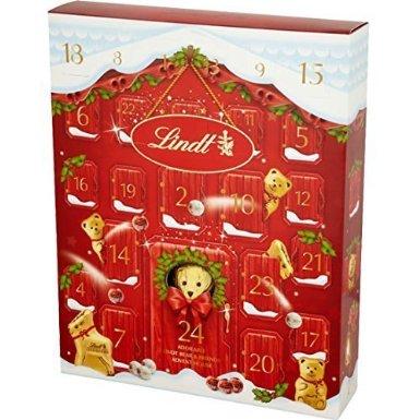 lindt advent calendar, golden bear advent calendar, luxury advent calendar, lovesales