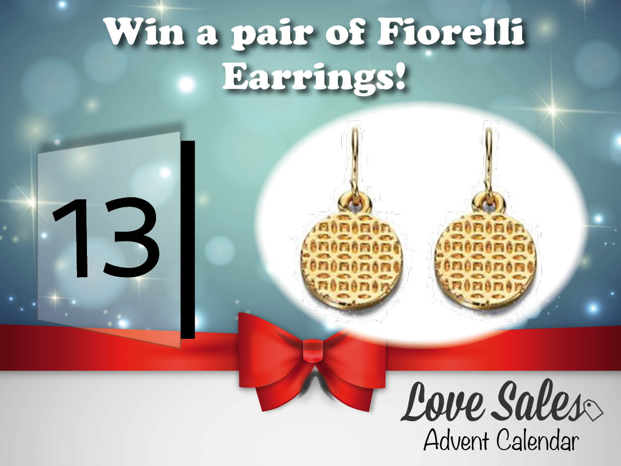 lovesales, fiorelli earrings, fiorelli, adventgiveaway, advent giveaway