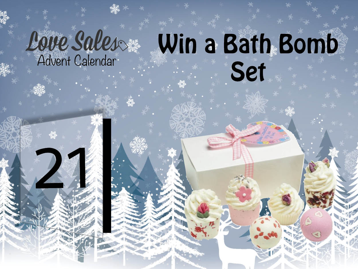bath bomb set, boxing day sales, lovesales