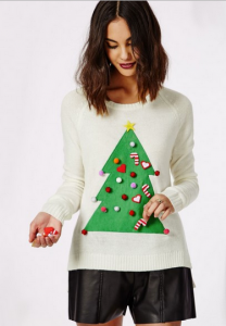 lovesales, christmas tree jumper, christmas jumper, best christmas jumpers, missguided sale, missguided