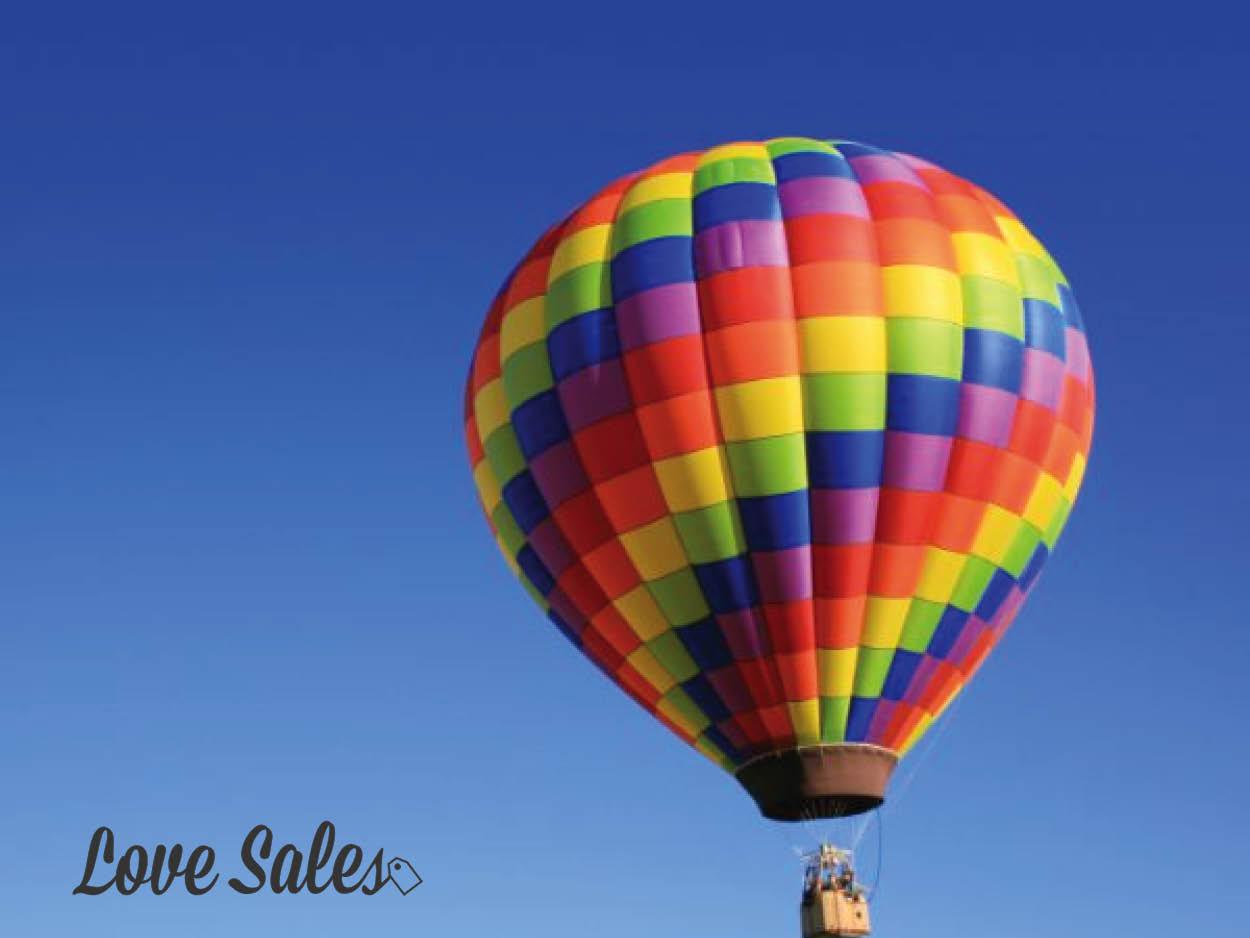Valentines hot air balloon, valentines hot air balloon ride, hot air balloon packages, lovesales
