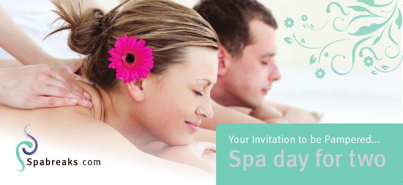 invitation to be pampered